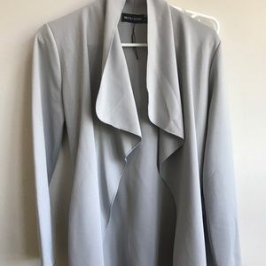 PRETTY LITTLE THING GREY DUSTER COAT